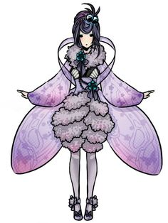 Female Venomoth - Pokemon Gijinka - http://imgur.com/a/DDxvd/layout/blog?forcedesktop=1#dqGK3