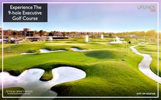 Tee-off in style at the 9-hole golf course and start your day on a luxurious note.#ArvindUplands– Ahmedabad's most sought-after township, is built around a golf course and hosts an array of world-class amenities.  Contact us for site visit:http://www.arvindsmartspaces.com/about_uplands.php  #RealEstateAhmedabad #9holegolfcourse #PremiumVillasinAhmedabad