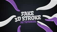 Fake 3D Stroke in After Effects