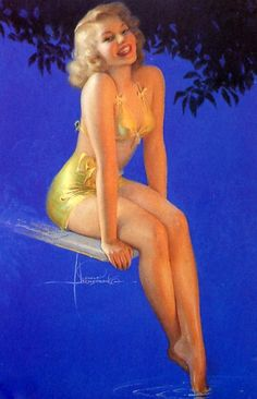 58bd18a2ff1 Rolf Armstrong Woman Painting