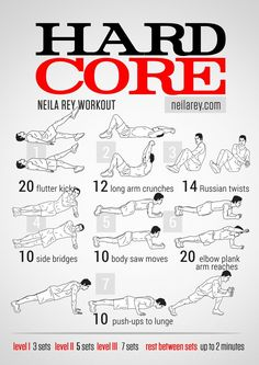 The Ultimate Arms And Abs Workout