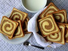 Ricetta Fette biscottate bicolori con biga
