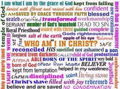 Who I am in Christ - Google Search