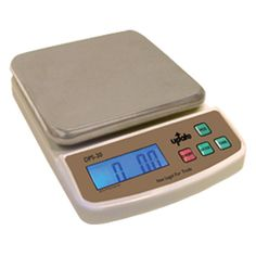 Digital Portion Scale - 20-lb x 0.01-oz, Stainless