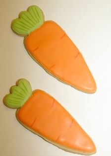 Carrot shaped biscuits - Google Search