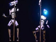 Quand des robots se mettent à la pole dance