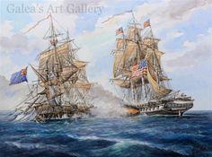 uss constitution : Galea's Art Gallery