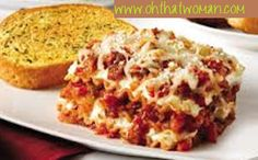 """Sausage and Peppers Lasagna Recipe -""""Minimal prep time is needed for this tasty meal; let the oven do the rest! Big flavor comes from the addition of the Italian sausage and peppers while the PHILADELPHIA Cream Cheese adds a wonderfully creamy texture. Cream Cheese Lasagna, Italian Sausage Lasagna, Lunches And Dinners, Meals, How To Make Lasagna, Sausage And Peppers, Stuffed Green Peppers, Pasta Dishes, I Foods"""