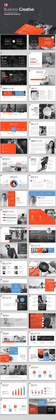 38 Best Modern Powerpoint Templates Images On Pinterest In 2018