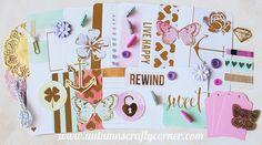 Sweet- Butterflies - Inspirational - Cardmaking - Planner Kit - Journal Kit - Scrapbook Page Embellishment Kit - Journaling Cards - Ephemera