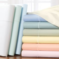 Spring colors! 400 Thread Count Cotton Sateen Sheets