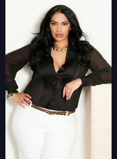 ", #curvy #sexy #thick  Classic and gorgeous curvy woman <3     ""if you like my curvy girl's fall/winter closet, make sure to check out my curvy girl's spring/summer closet.""   http://pinterest.com/blessedmommyd/curvy-girls-springsummer-closet/pins/"