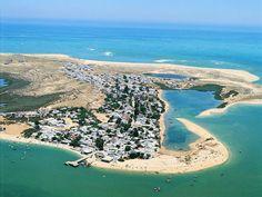 Armona Island, Olhão, Algarve - Portugal..Meu local de férias durante mais de uma década.!