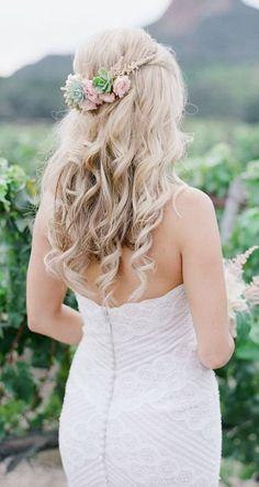 Trendy Wedding Hairstyles :   photo: Koman Photography    - #WeddingHairstyles