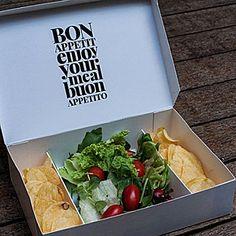 Creative fast food packaging box design More