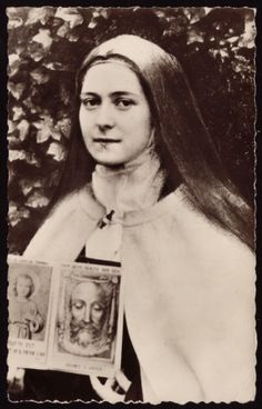 Memorial of Saint Thérèse of Lisieux (of the Child Jesus and the Holy Face), Virgin and Doctor of the Church We had the nep… Catholic Saints, Patron Saints, Roman Catholic, Sainte Therese De Lisieux, Ste Therese, St Therese Prayer, Maria Goretti, Jesus Face, Blessed Mother