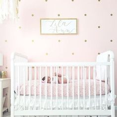 """1,088 Likes, 35 Comments - Project Nursery (@projectnursery) on Instagram: """"Just a little pink and gold nursery dreaminess on this fab Friday. ☺Thanks for sharing with us,…"""""""