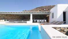 Greece Luxury Villas, Luxury villa rentals in Mykonos, Villa Vince, Cyclades, Greece