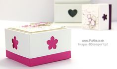 3×3 Card Box for Swaps for US Stampin' Up! Convention 2014 Tutorial | Stampin' Up! UK Demonstrator Pootles - SHOP ONLINE 24/7