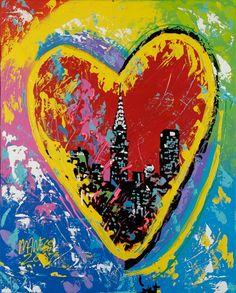 Really neat I Love Heart, I Love Ny, Love Art, All Art, Hearts Playing Cards, Jar Of Hearts, Fire Heart, Heart Art, Art Google