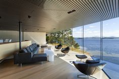 Tula House / Patkau Architects - Quadra Island, Canada