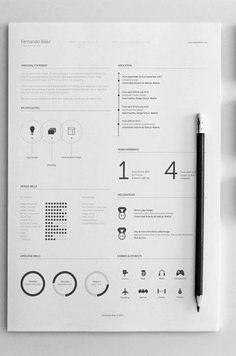 minimal resume cv template pinterest graphic resume resume