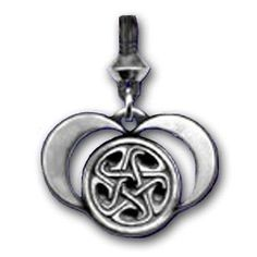 HECATE Necklace DARK MOON Goddess HEKATE - Pendant Wicca Pagan QUEEN of Witches-