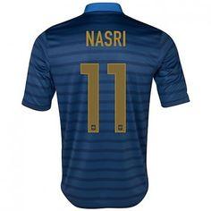 Nasri de la Selección de Francia Eurocopa 2012 Camiseta futbol  530  -  €16.87   Camisetas de futbol baratas online! bd27cb8730544
