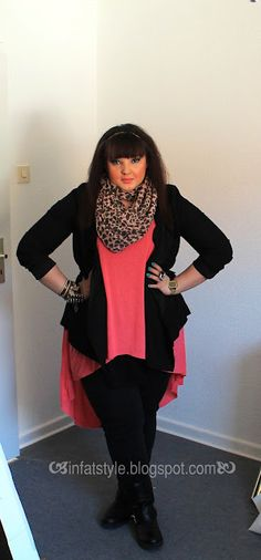 Plus Size, Plus-Size, Fashion For more go on : http://www.infatstyle.blogspot.com
