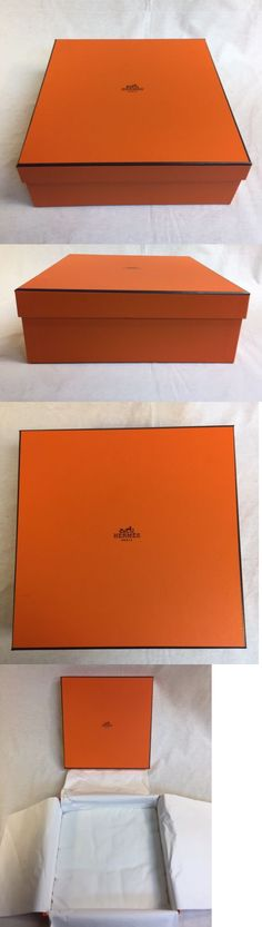 Gift Boxes 102380: Hermes Gift Box Empty Size 10 X 10 X 4 High New 100 % Original With Pillow -> BUY IT NOW ONLY: $40 on eBay!