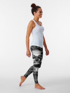 """""""Hell Reclaims It's Own"""" Leggings by GrandeDuc 