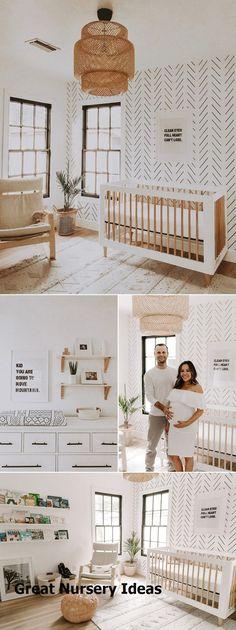 Amazing Nursery Ideas #babyroom Baby Boy Nursery Room Ideas, Baby Room Boy, Boho Nursery, Baby Bedroom, Baby Boy Nurseries, Baby Room Decor, Living Room Decor, Neutral Nurseries, Modern Nurseries