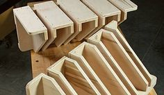 Clamp racks offer tons of storage. One sheet of plywood, cut carefully, will yield two clamp racks and mounting cleats for your workshop.
