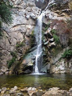 Sturtevant Falls, San Gabriel Mountains, Pasadena, Los Angeles, California