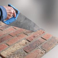 Brick Boards heat resistant insulating panels made from real brick slips - Sizes and fitting