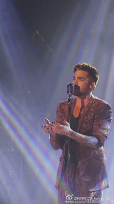 01/03/16 Adam Lambert in Beijing, China - 1st show of The Original High Tour
