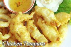 Yummy Chicken Tempura Recipe