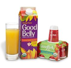 GOODBELLY is a probiotic juice drink that does not come in the form of yogurt. It is completely dairy/lactose-free, vegan, and made with organic fruit juices. GoodBelly helps strengthen your immune system, helps with GI issues and also aids in digestion.