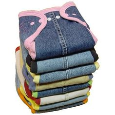 Fern & Faerie Recycle Diapers Pattern-. use upcycled denim and upcycled cotton for bindings!