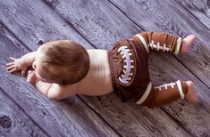 Baby Boy Football Diaper Cover  70% off at Groopdealz