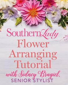 Southern Ladies, Step By Step Instructions, Pretty Flowers, Good To Know, Floral Arrangements, Join, Bloom, Stylists, Diy Crafts