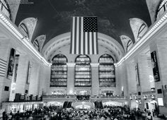 Grand Central Station at Rush Hour, NYC - http://andrewprokos.com