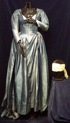 Lisa Marie ~ Ichabod's mother ~ Blue flying dress w/blindfold ~ Sleepy Hollow