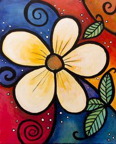 55 Easy Acrylic Painting Ideas on Canvas - Crochetfornovices. 55 Easy Acrylic Painting Ideas on Ca Cute Canvas Paintings, Easy Canvas Painting, Simple Acrylic Paintings, Diy Painting, Painting & Drawing, Canvas Art, Acrylic Canvas, Tree Wall Art, Painting Gallery