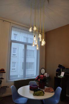 gekleurd lamp snoer