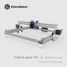 EleksMaker® EleksLaser-A3 Pro 5500mW Laser Engraving Machine CNC Laser Printer Sale - Banggood Mobile