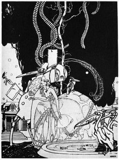 Early 1900s Humor Magazine Illustrations by Franz Wacik: The-Midnight-Feast-by-Franz-Wacik.jpg