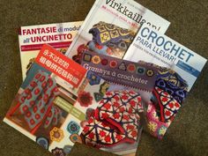 @GoCrochet Afghan Design Workshop book is now available in translation in Chinese, Italian, Finnish, French and more
