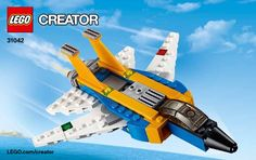 View LEGO instructions for Super Soarer set number 31042 to help you build these LEGO sets