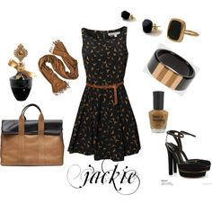 Summer dressy, created by jackijons.polyvore.com